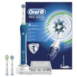 Oral-B Pro 4000 CrossAction Electric Rechargeable Toothbrush