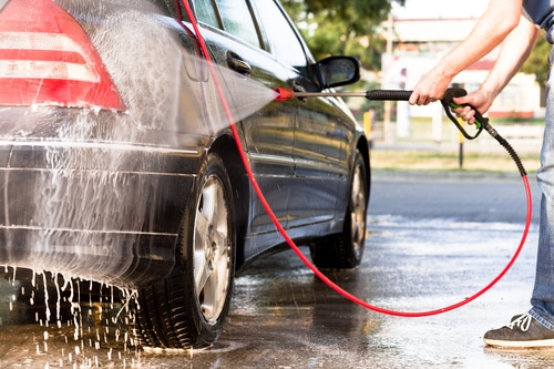 Can Pressure Washers Damage Car Paint