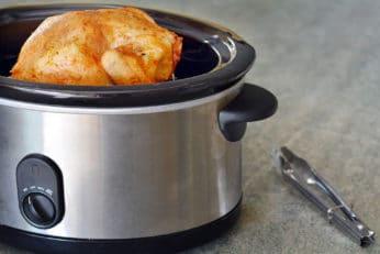 cooking chicken in a crock-pot