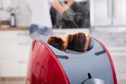 are toasters a fire hazard