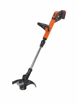 BLACK + DECKER 18V Cordless 28cm String Grass Trimmer w 2.0Ah Lithium Ion Battery