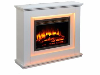 Endeavour Fires Electric Fireplace Suite Castleton