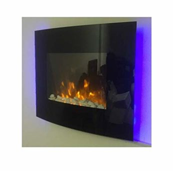 TruFlame 2018 Wall Mounted Electric Fire with Pebble Effect