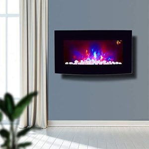 new TruFlame 2018 Wall Mounted Electric Fire with Pebble Effect