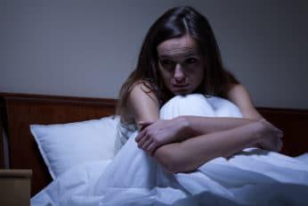woman who needs the best sad alarm clock