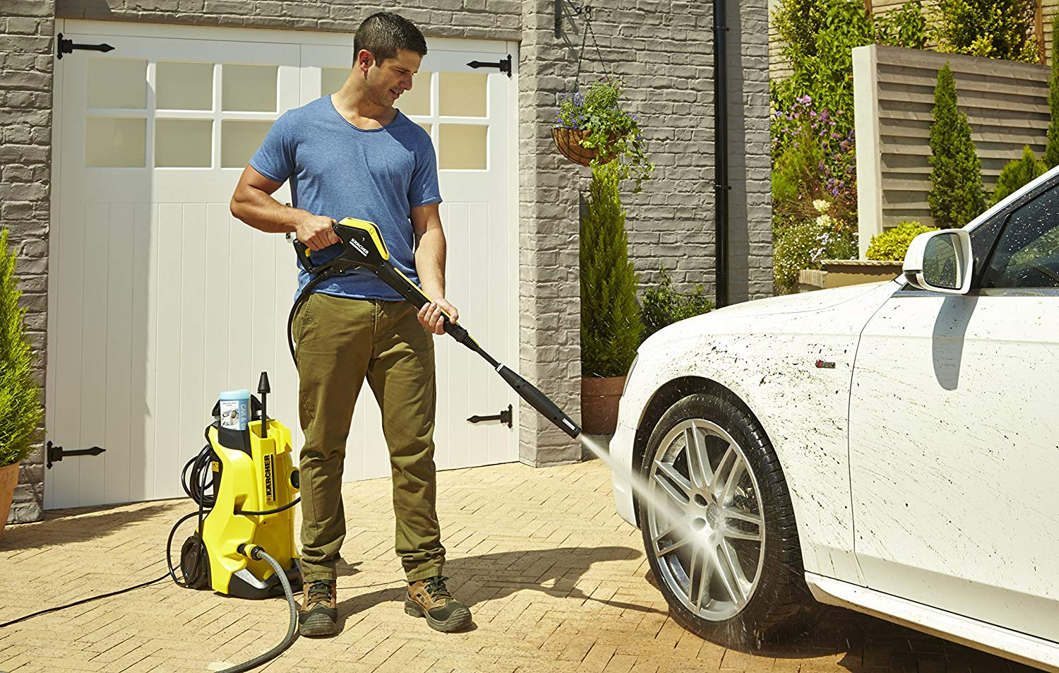 Karcher K4 Review 2019 - Is It The Right Pressure Washer For You?