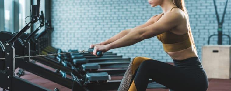 calories burned rowing