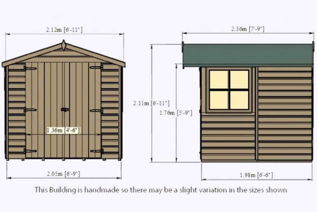 Best Garden Shed Reviews UK 2019 - Top 7 Choices Compared