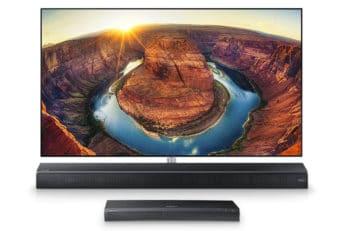 TV and smartbar setup