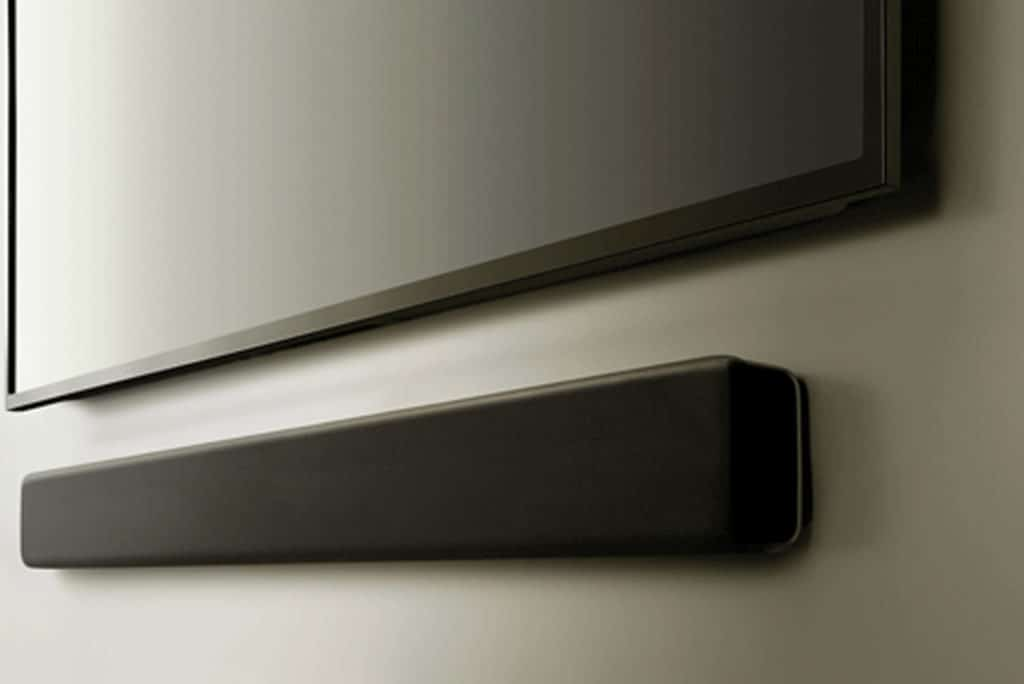 Wall mounted soundbar
