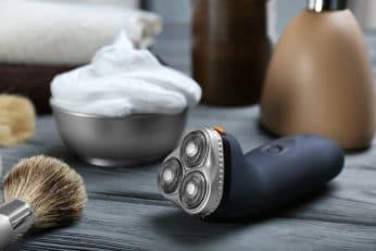 shaving tools close up