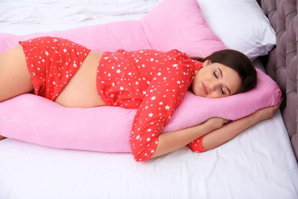 young mom falling asleep