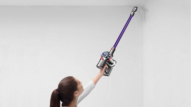 cleaning cobwebs with dyson v7 animal