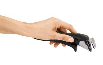 a hand holding a detachable handle