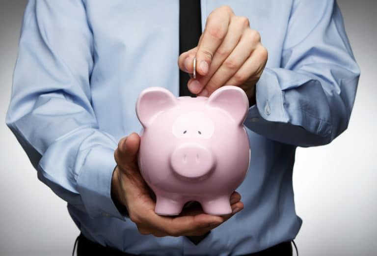 average savings uk