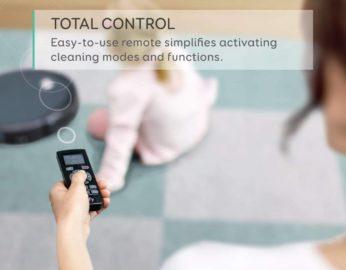 remote-controlled vacuum