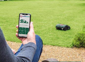 app controlled robot mower