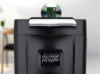 cd and paper shredding
