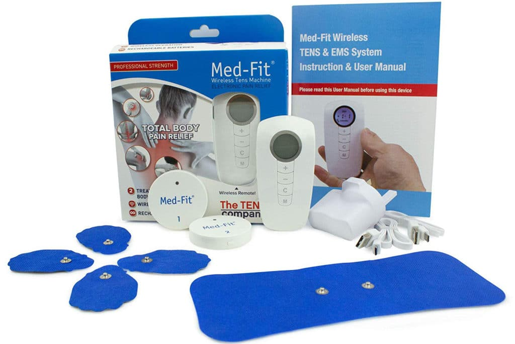 Med-Fit Wireless Dual Channel Muscle Stimulator