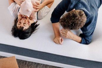 family on casper mattress