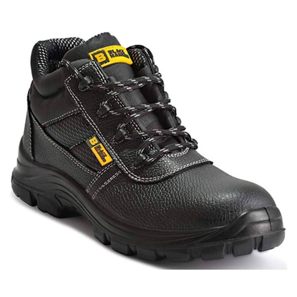 Black Hammer Steel Toe Shoes