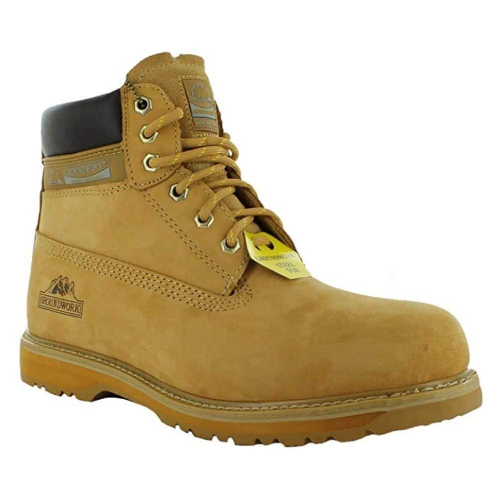 Groundwork Steel Toe Combat Shoes
