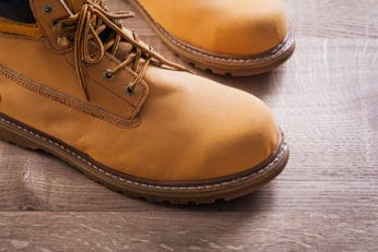 steel toe option