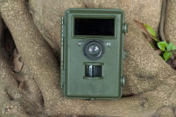 battery-powered trail cam