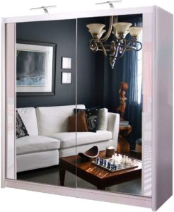 Double Mirror Sliding Door