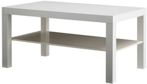 Ikea LACK White