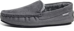 dunlop men's george moccasin slippers