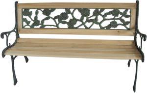 Birchtree 3-Seater Wooden Slat