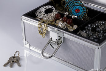 accessories storage with a lock