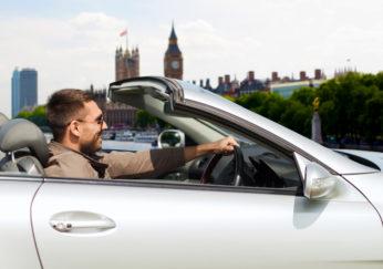 driving around London