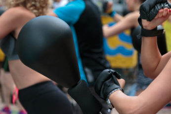 free-standing boxing equipment