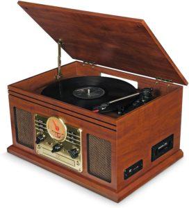i-Box Walters Vinyl Turntable