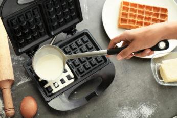 putting the dough