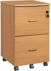VASAGLE Lockable Pedestal
