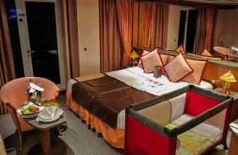 a luxury room