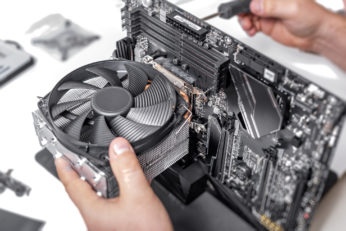fixing the motherboard