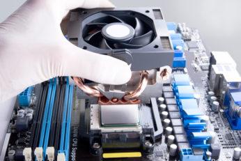 installing a computer fan
