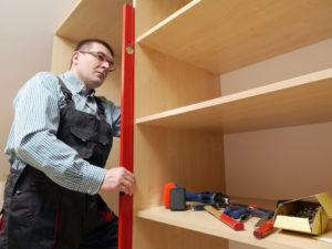 shelves assembling