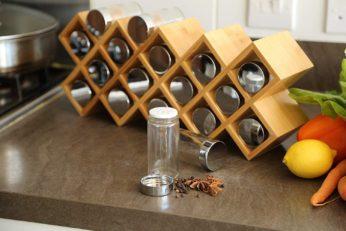 wooden holder for jars