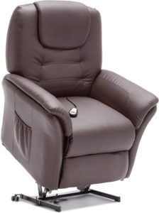 More4Homes Windsor Bonded Leather Electric