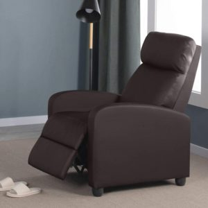 Yaheetech Single Padded Armchair