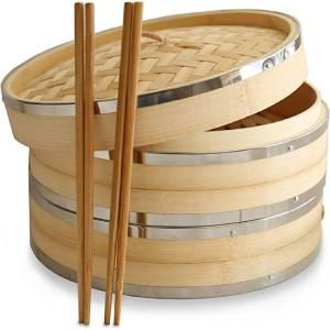 Harcas 10-Inch Premium Organic Bamboo