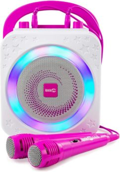 pink and white music entertainment device device for kids