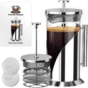 Cafe du Chateau Heat-Resistant Borosilicate Glass