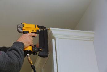 man doing home repairs