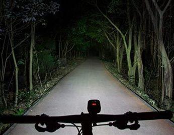 brightness during evening ride